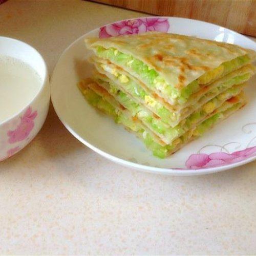 菜饼 – Vegetable Pancake
