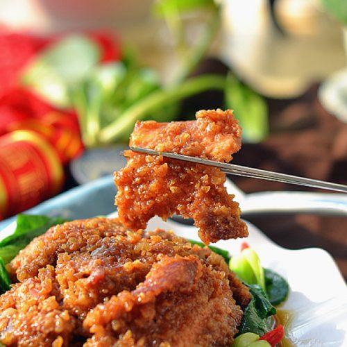 粉蒸肉 – Steamed Pork with Rice Flour